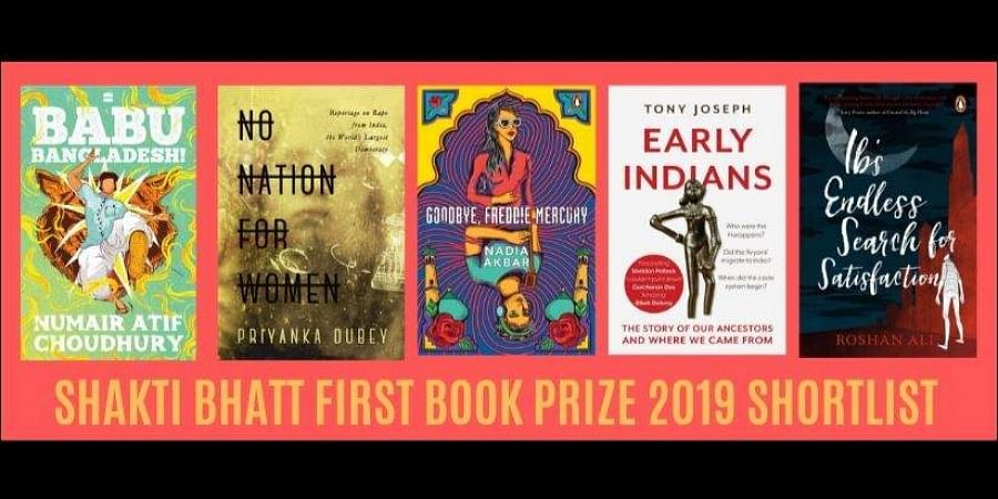 Shakti Bhatt First Book Prize 2019 shortlist released on Facebook by their official page.
