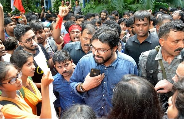 Jadavpur University students filecomplaint against Babul Supriyo