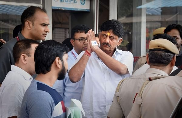 Congress leader D K Shivakumar granted bail after 50 days in money laundering case
