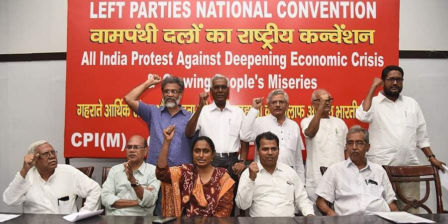 Left parties national convention