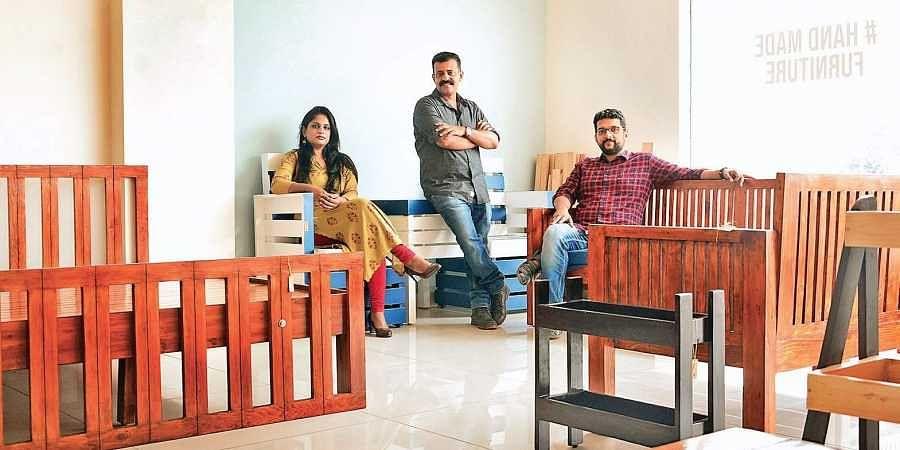 Partners Lavanya Ravishankar, Pradeep Nair and Arun Ashok