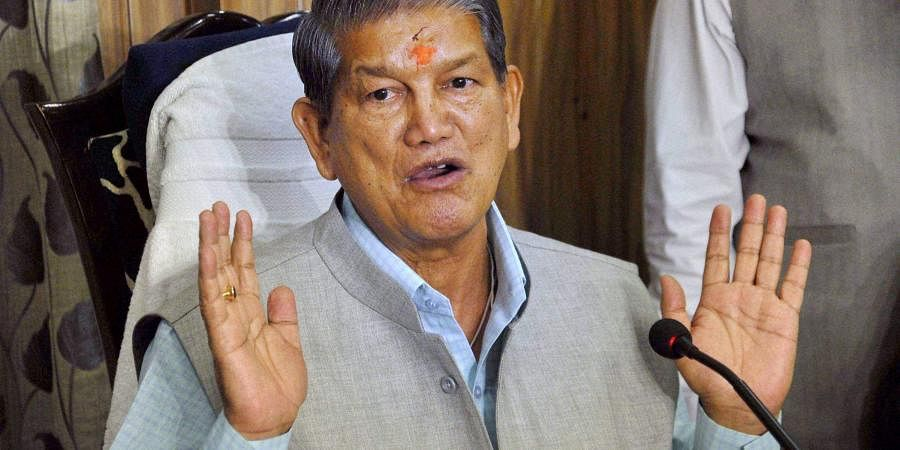 Former Uttrakhand Chief Minister Harish Rawat