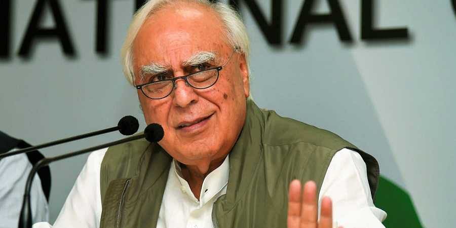 Senior Congress leader Kapil Sibal