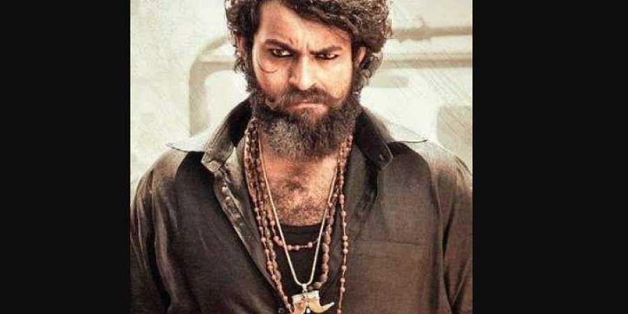 Telugu film 'Valmiki' poster.
