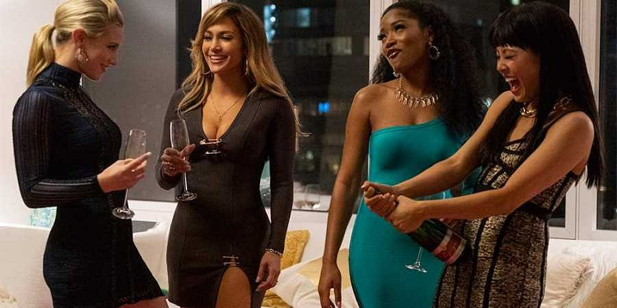 A still from Jennifer Lopez-starrer 'Hustlers'.
