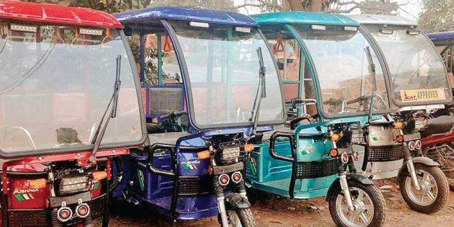 The three wheelers designed by IIT-Kharagpur