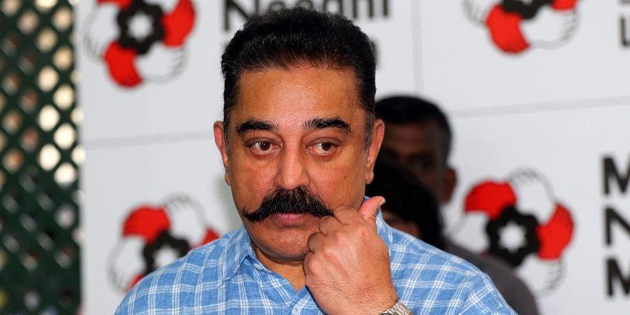 Actor andMakkal Needhi Maiam chiefKamal Haasan