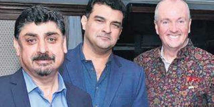 Kulmeet Makkar, Sidharth Roy Kapur and Phil Murphy
