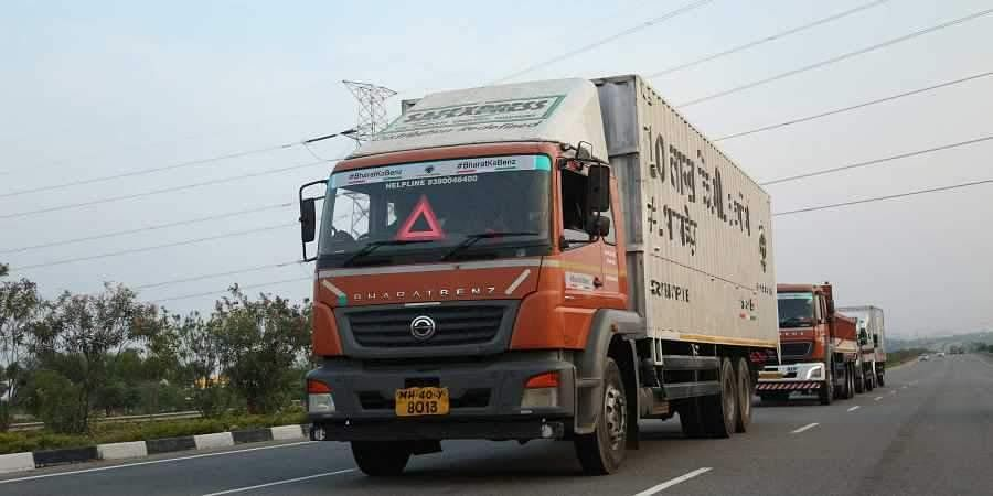 Image of a truck used for representational purposes only. (Photo | EPS)