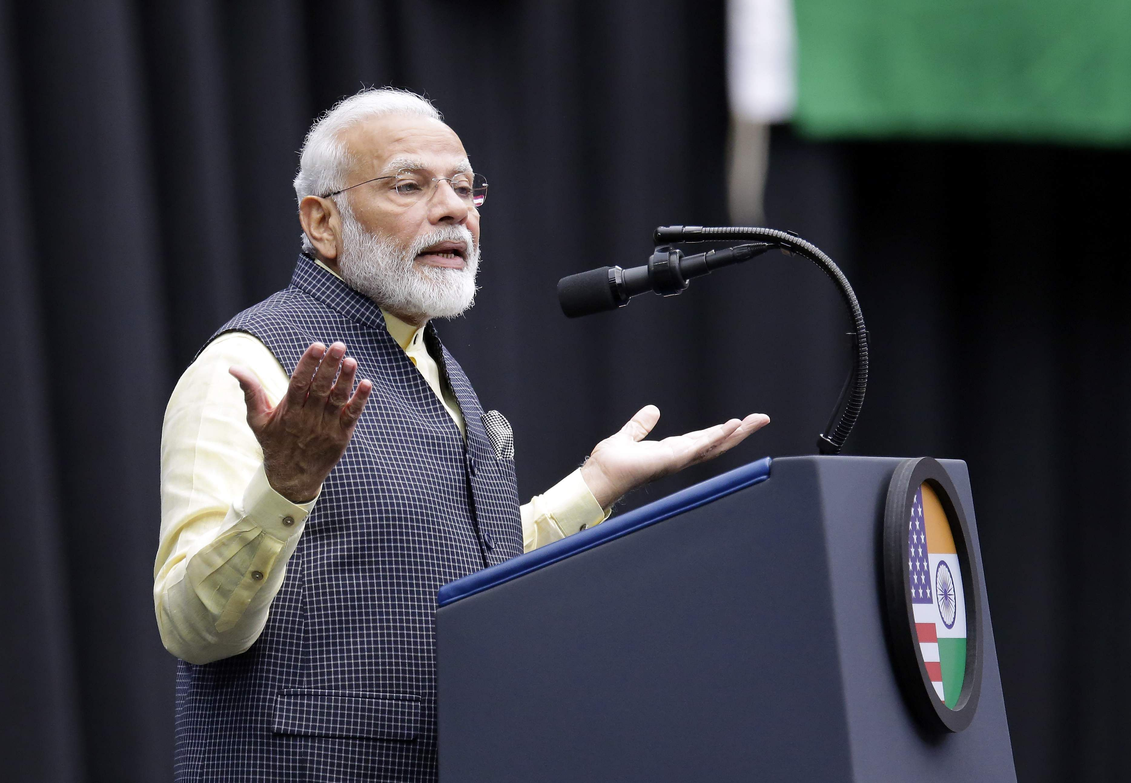 he Prime Minister cited that India is growing at a faster speed every day and that 130 crore Indians have brought unprecedented results in different sectors in the last five years.