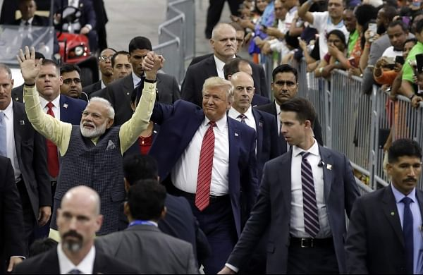 """Watershed moment for India-US ties"" Modi thanks Trump for his presence at Houston event"