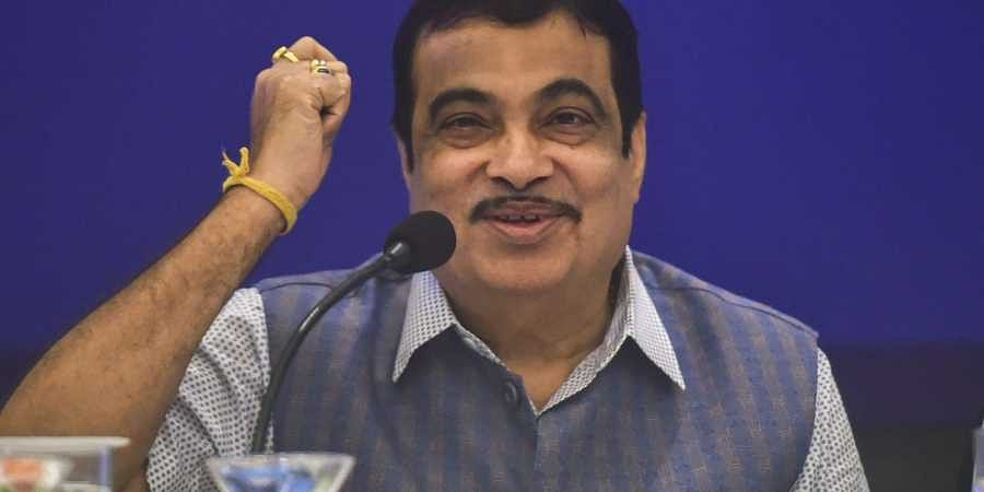 Union Minister for Road Transport and Highways Nitin Gadkari at a press conference in Mumbai Monday September 9 2019.   PTI