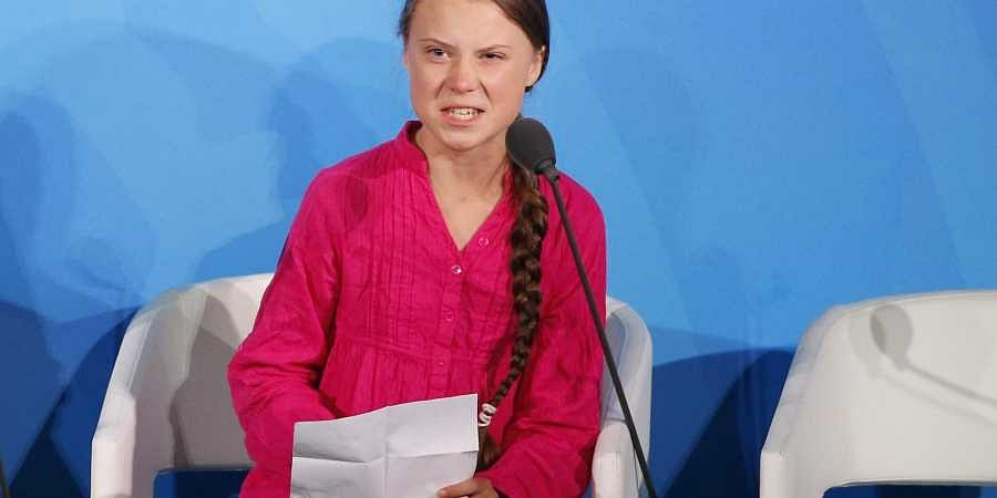 Thunberg, young climate activists blast inaction at the United Nations