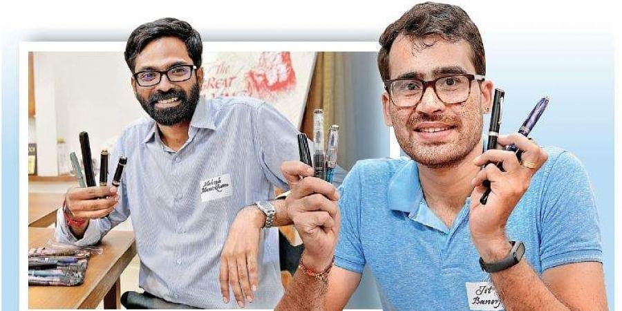 Mahesh Manickham (left) and Jit Banerjee