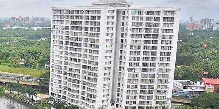 Holy Faith H2O apartments in Kochi
