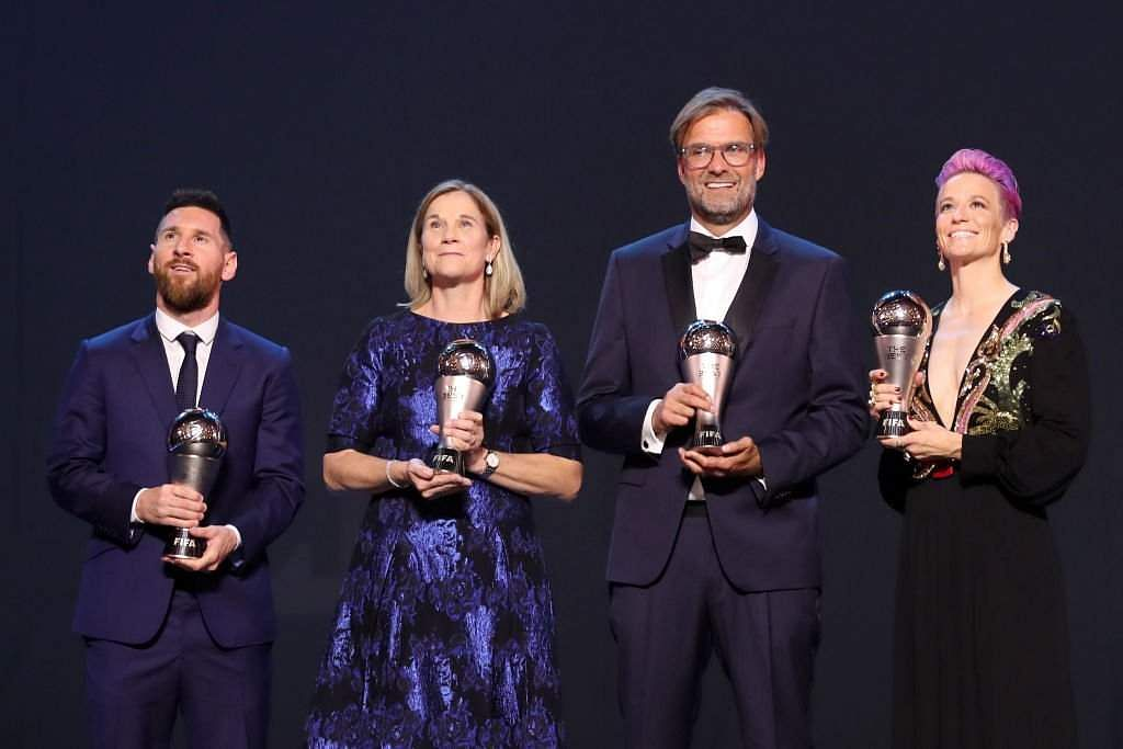 Best FIFA Football Awards 2019 in pictures