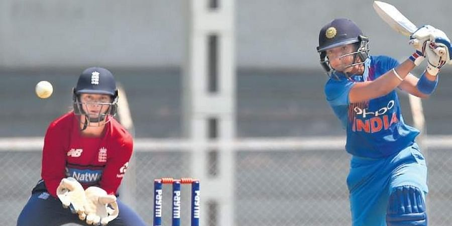 Harmanpreet Kaur (R) is banking on youngsters like Shafali Verma to deliver