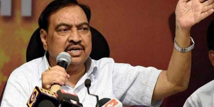 Senior BJP leader Eknath Khadse