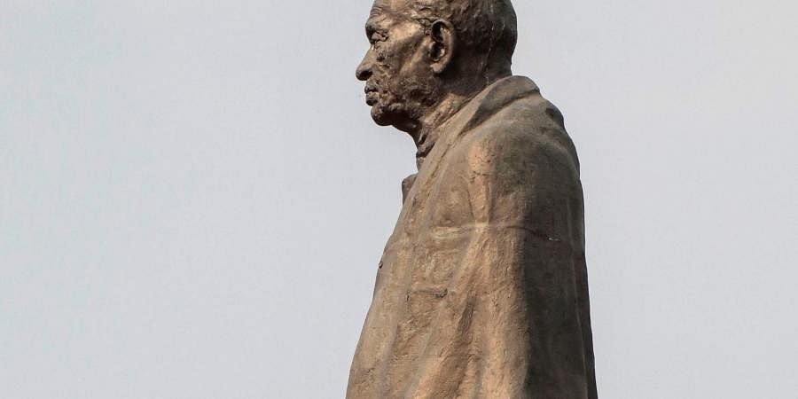Statue of Sardar Vallabhbhai Patel in Ahmedabad.