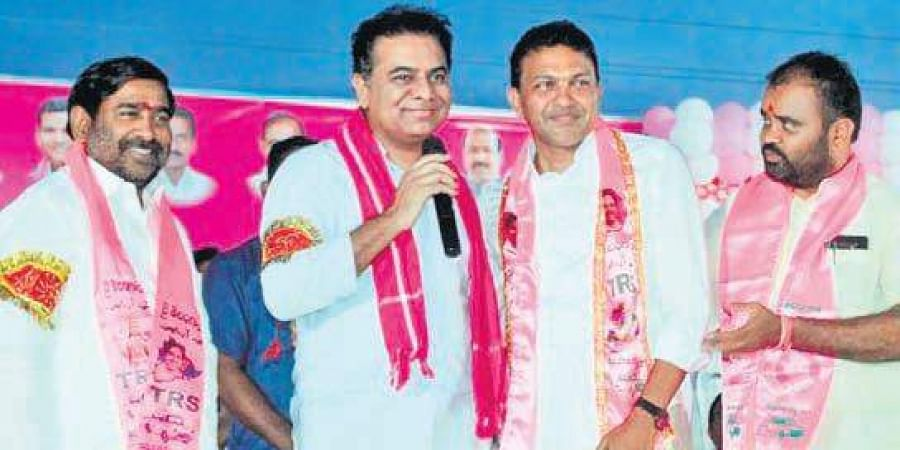 Image result for trs will win in huzurnagar by elections