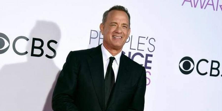 Hollywood actor Tom Hanks
