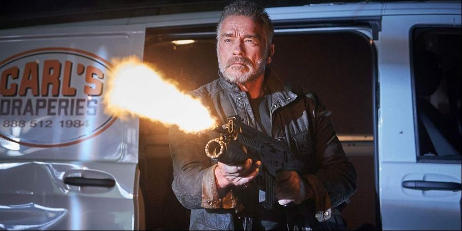 Hollywood actor Arnold Schwarzenegger in 'Terminator: Dark Fate'.