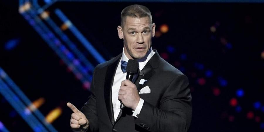 Actor-wrestler John Cena