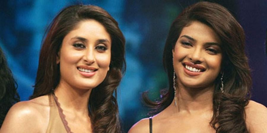 #Kissandmiss: Priyanka, Kareena Have A 'Face Off' On Show Set