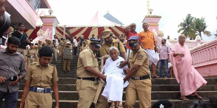 Piravom church protest