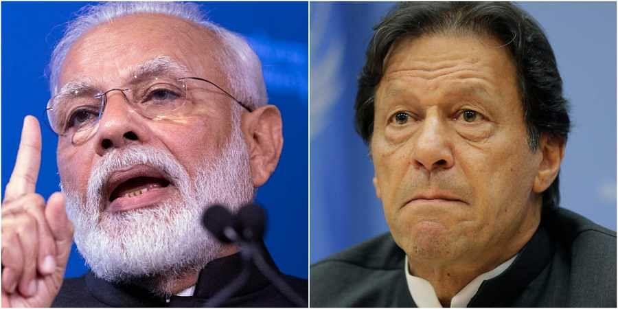 PM Modi (L) and Imran Khan. | (File | AP)