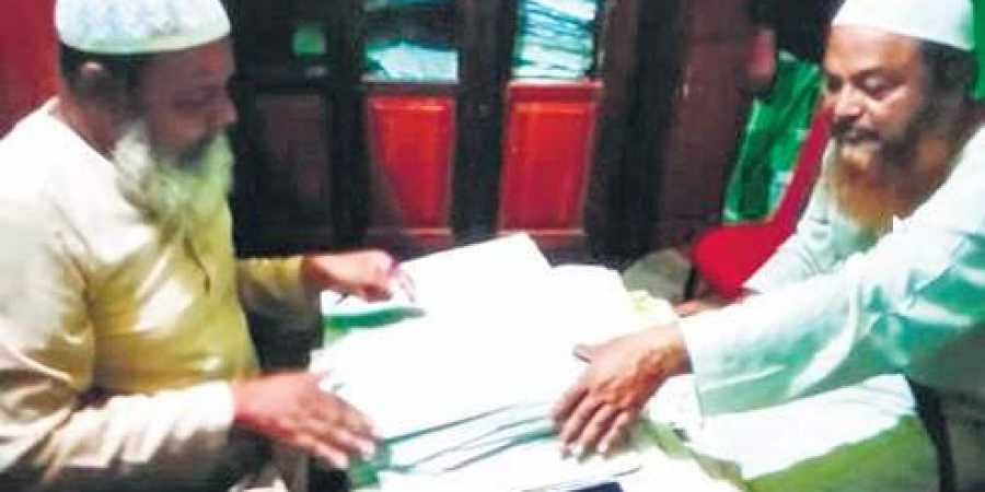 Senior citizen couples are getting remarried to get certificates. | (Photo | EPS)