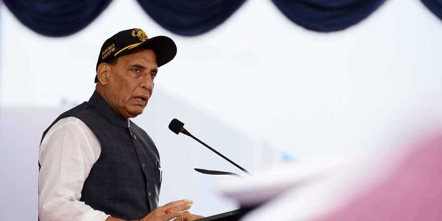 Defence Minsiter Rajnath Singh. | (File | EPS)