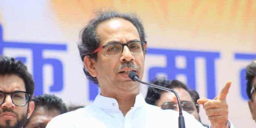 Shiv Sena president Uddhav Thackeray.