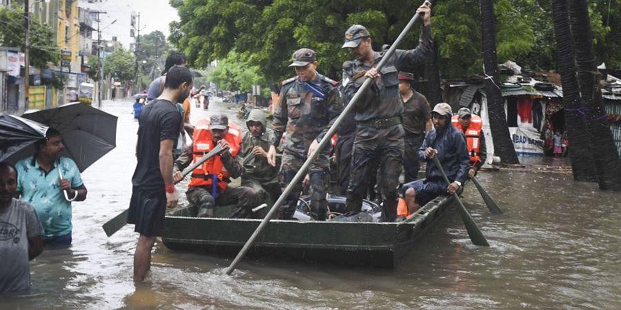 Bihar floods, Patna