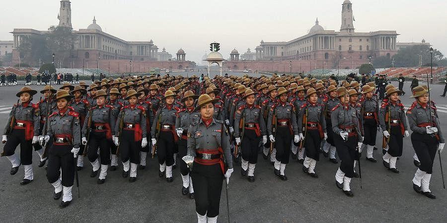 Assam Rifles Women soldiers