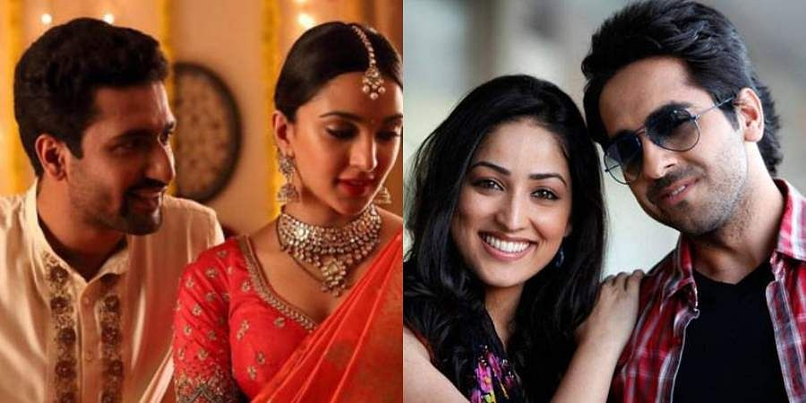 A still from 'Lust Stories' and 'Vicky Donor'.