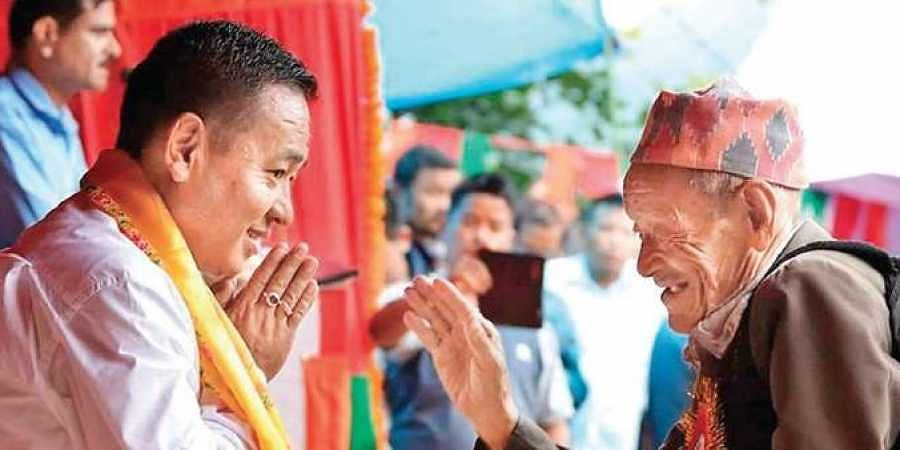 Prem Singh Tamang led his party, Sikkim Krantikari Morcha, to a stunning win over Sikkim Democratic Front in the state polls