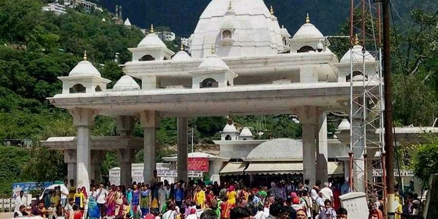 Thousands of pilgrams visit the Vaishno Devi Temple every year.