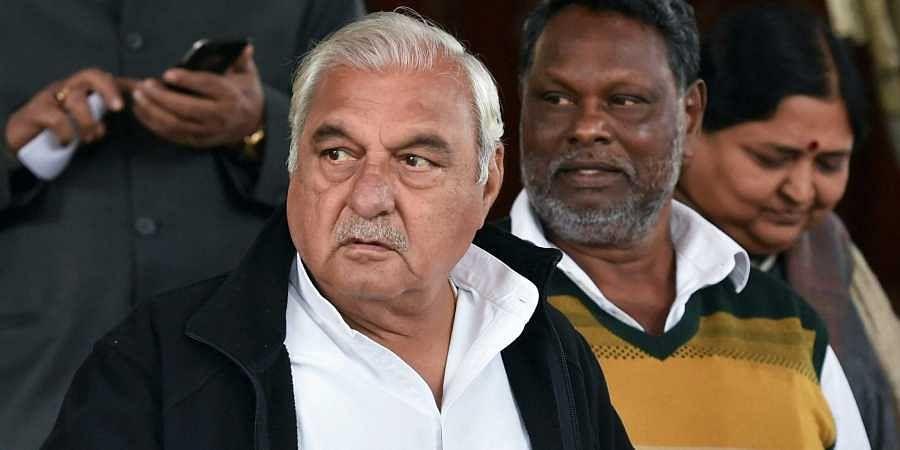 Former HaryanaCMBhupinder Singh Hooda