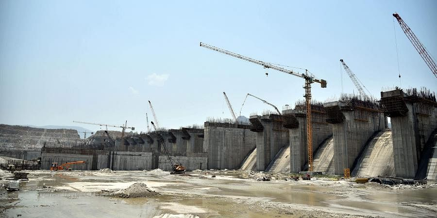 Polavaram project site