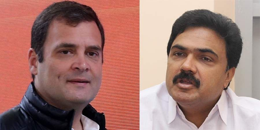 Rahul Gandhi and Jose K Mani