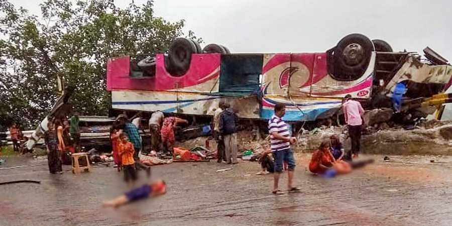 The accident took place in Banaskantha district
