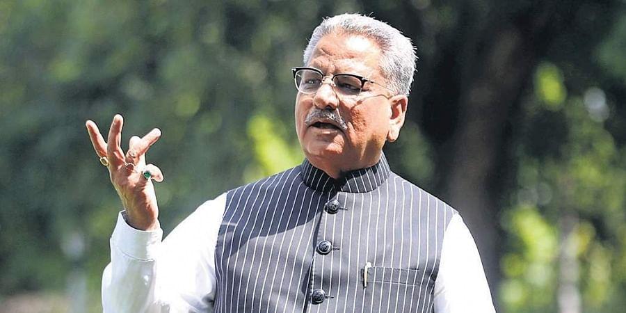 BJP vice president Om Prakash Mathur.   (Shekhar Yadav   EPS)