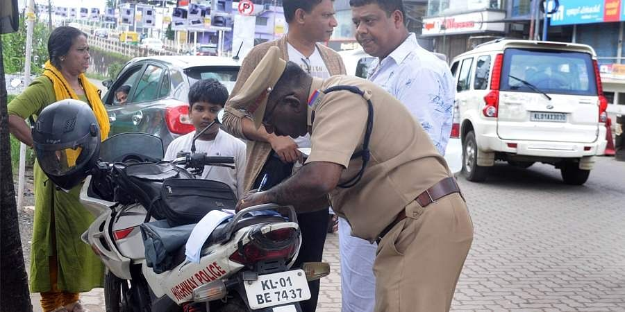 kerala traffic police