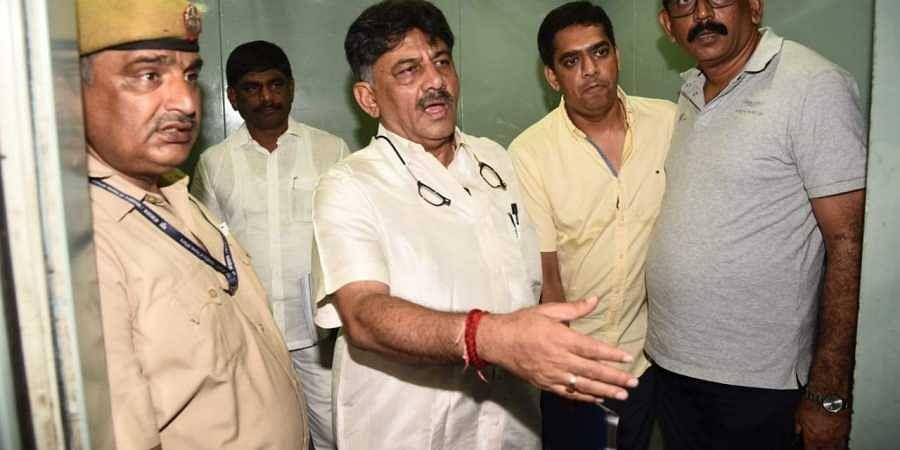 Karnataka Congress leader D K Shivakumar