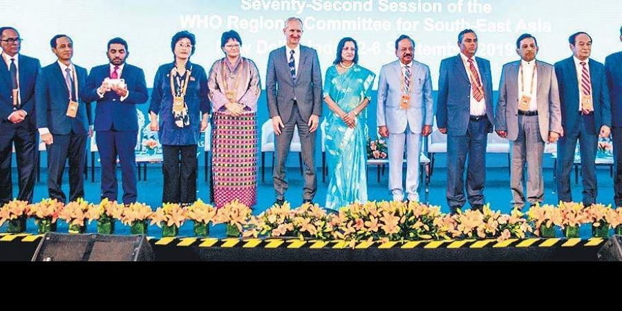 72nd session of the WHO Regional Committee of South-East Asia.