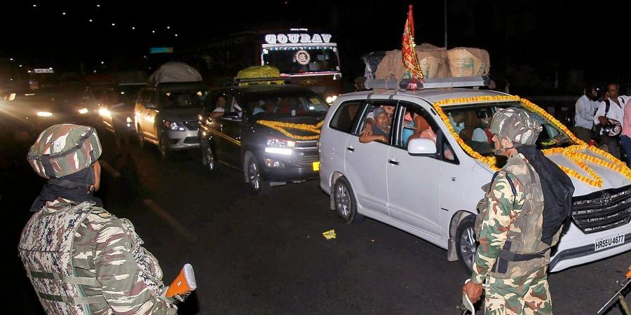Kashmir traffic