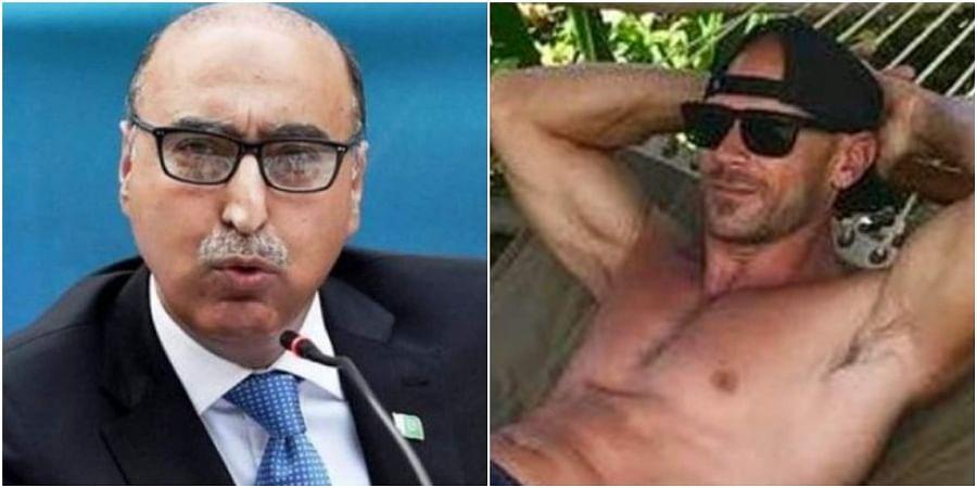Abdul Basit (R) and Johnny Sins