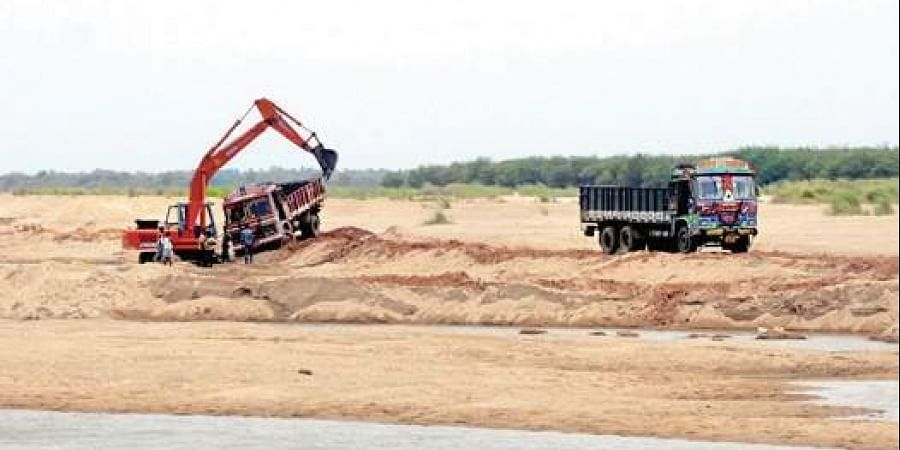 Sand transport