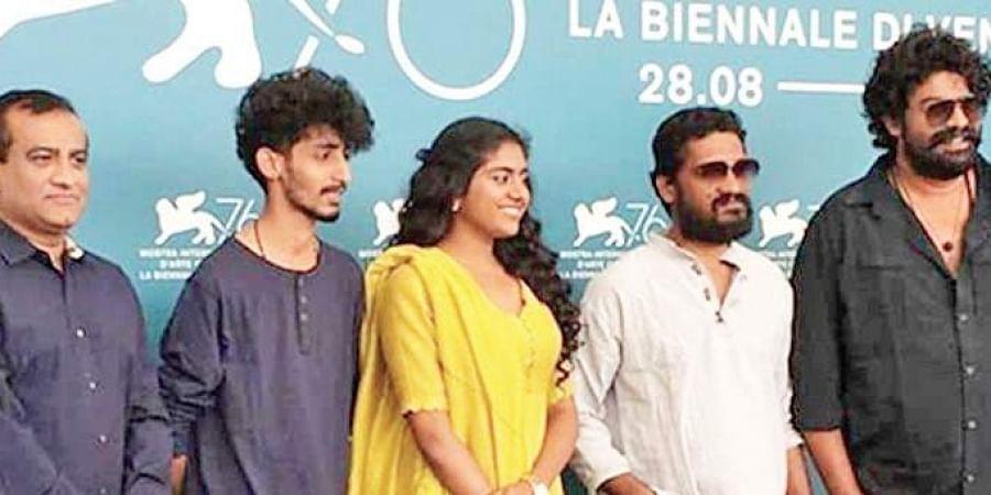 Sanal Kumar Sasidharan's new film Chola was screened at the prestigious Venice film festival.